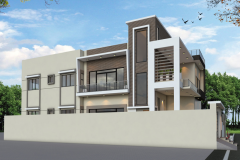 Home Designning, 3-D Views Plot # B-202 Bungalow 400 Square Yard At Pakistan Scientist Co-Operative Housing Society