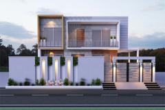 Home Designning, 3-D Views Plot # C-339 Bungalow 600 Square Yard At Gulistan-E-Jauhar Block-1-3